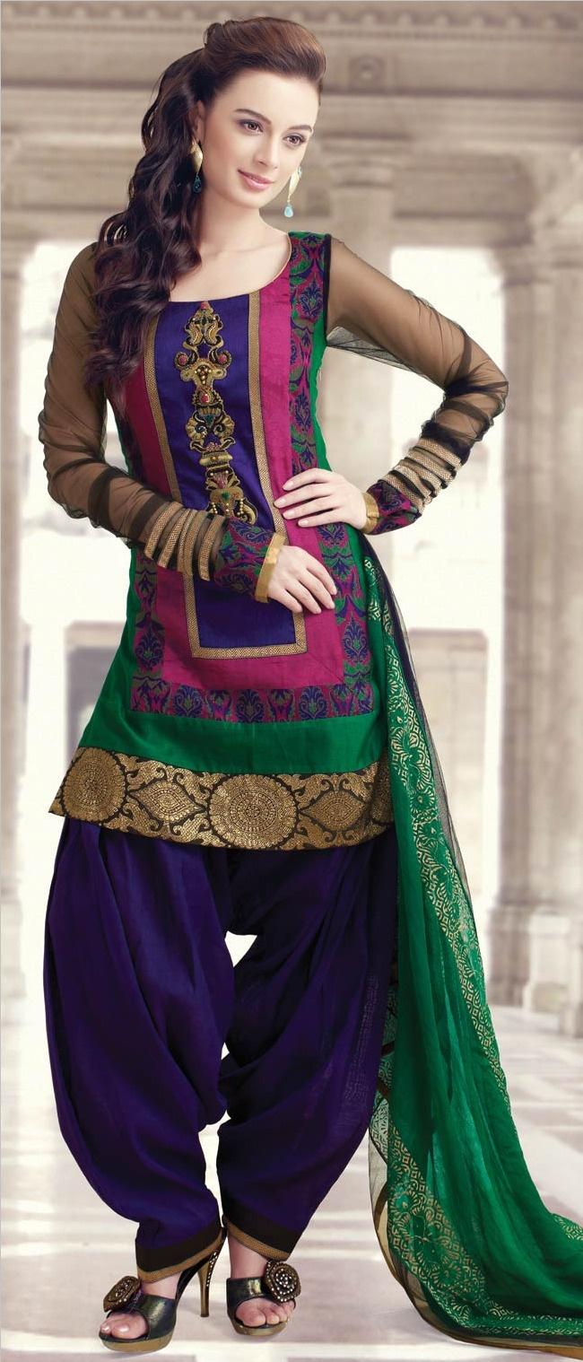 Punjabi Suits Latest Indian patiala Shalwar Kameez Collection 2015-2016 (5)