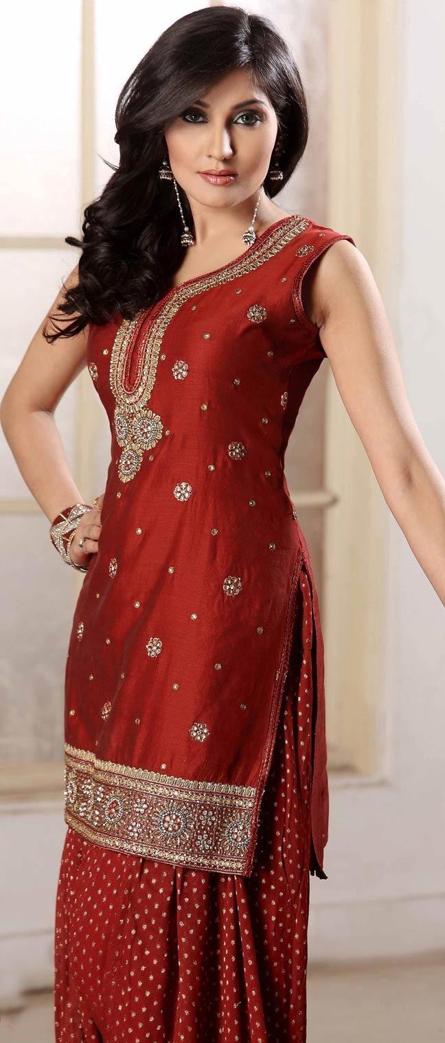 Punjabi Suits Latest Indian patiala Shalwar Kameez Collection 2015-2016 (6)