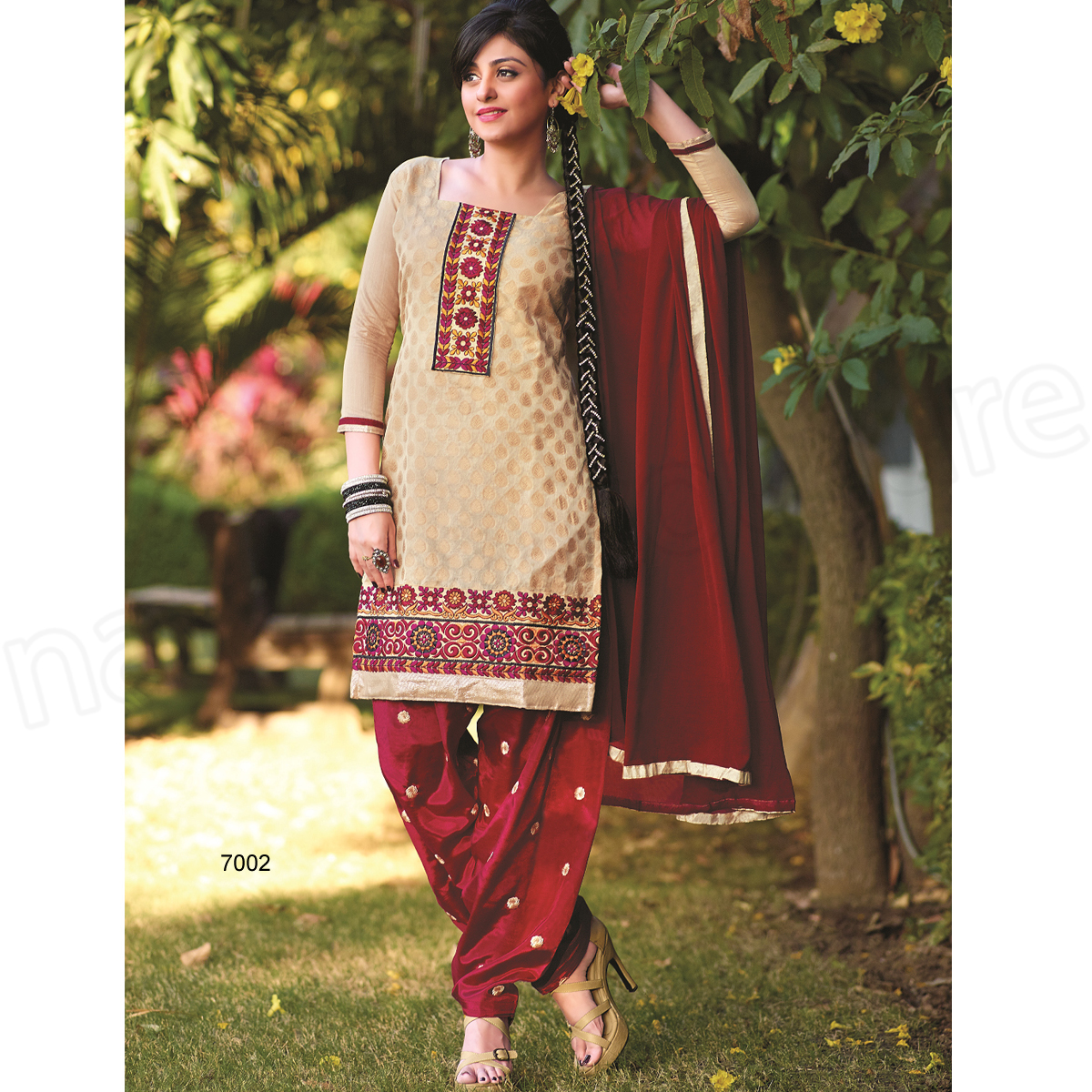 Punjabi Suits Latest Indian patiala Shalwar Kameez Collection 2015-2016 (8)