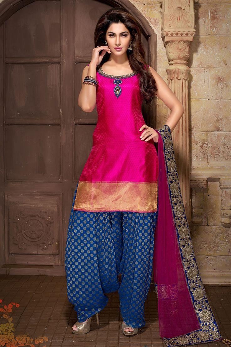 Punjabi Suits Latest Indian Patiala Salwar Kameez Collection 2018-19