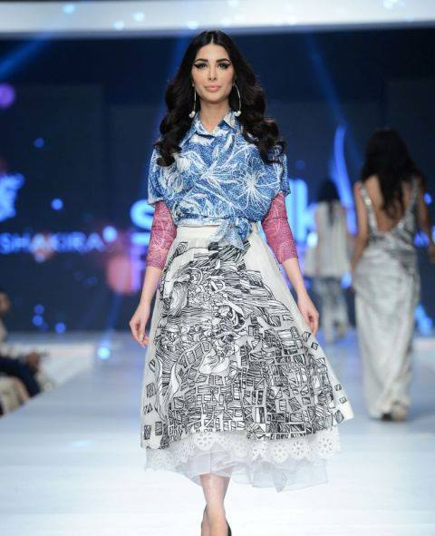 Saira Shakira Collection at sunsilk fashion week 2015-2016 (2)