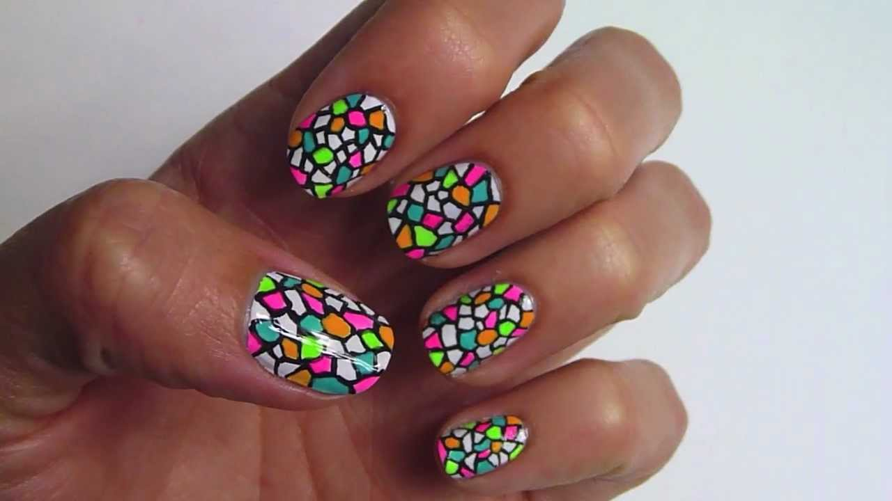 Stained glass nails art designs tutorials with steps 7 stained glass nails art designs tutorials with steps 7 prinsesfo Choice Image