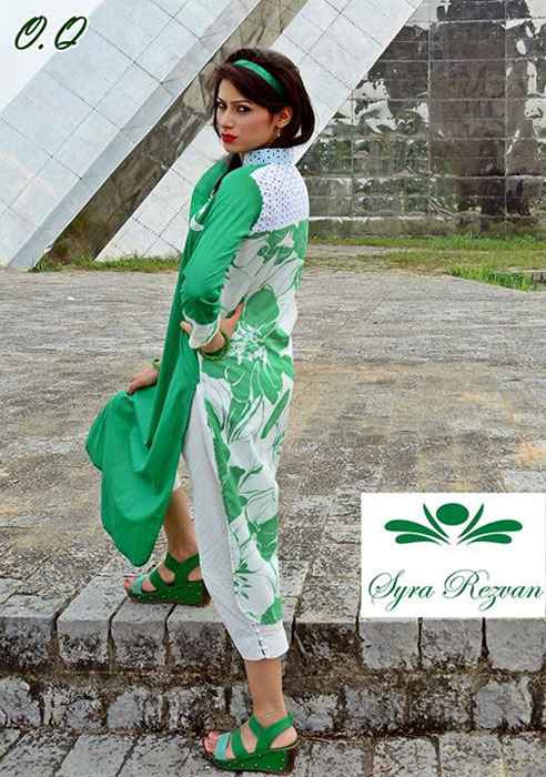 Syra Rizwan 14th August Independence Dresses Collection 2015-2016 (2)