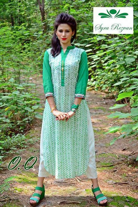 Syra Rizwan 14th August Independence Dresses Collection 2015-2016 (5)