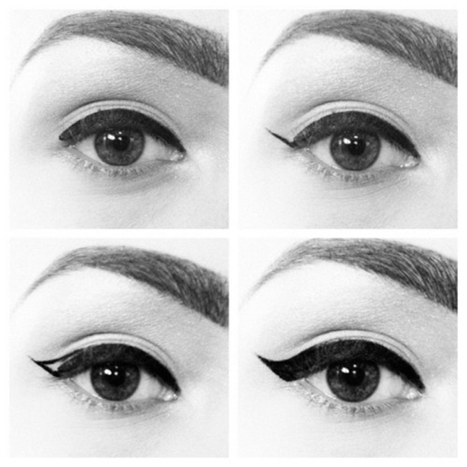 how to use eyeliner to make eyes bigger