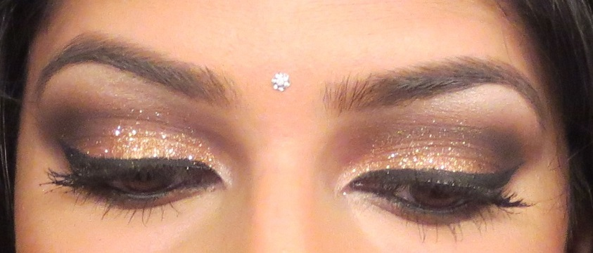 indian bridal eyes makeup