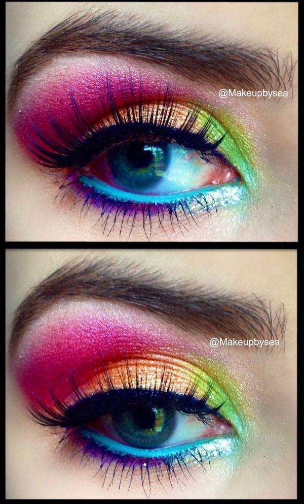 pastel eye makeup tutorial  (2)