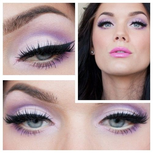 pastel eye makeup tutorial (4)