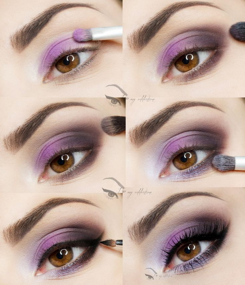 pastel eye makeup tutorial  (5)