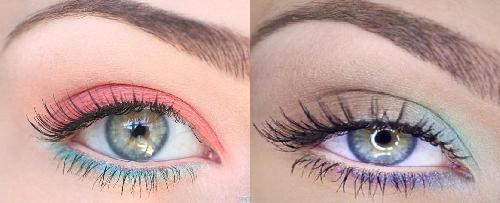 pastel eyeshadow colors