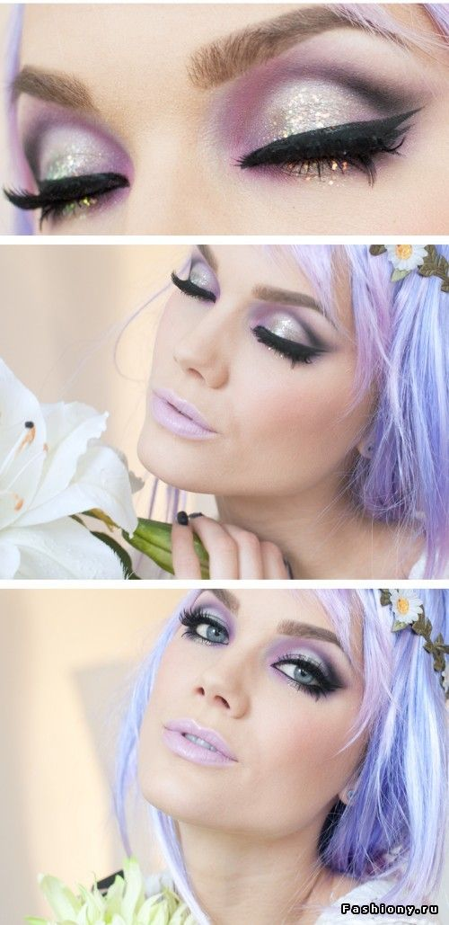 pastel makeup looks (2)