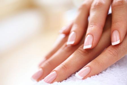 preparing nails