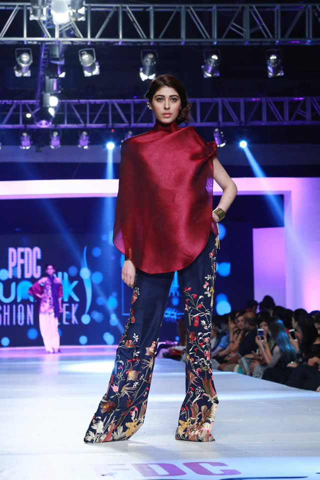 sania maskatiya paristan collection at sunslik fashion week 2015 (3)