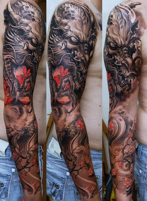 Body Art Men Tattoos Latest Design Ideas & Trends 2015-2016 (25)