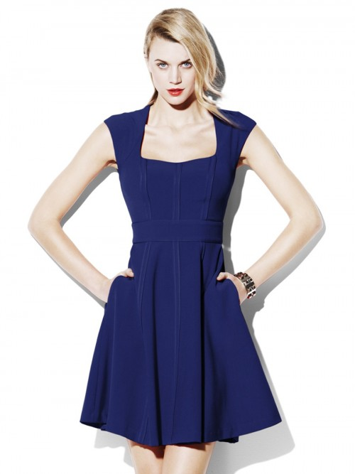 Closet Flared Dress Styles Latest Collection 2015-2016 (15)