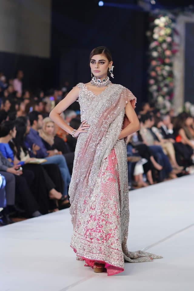 Famous Designer Sana Safinaz collection at PFDC L'Oréal Paris Bridal Week 2015 (1)