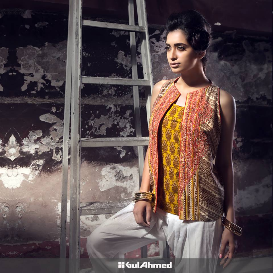 Gul Ahmed Mid Summer Cambric Dresses 2015-2016 (5)