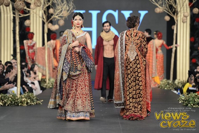 HSY Wedding Collection at PFDC L'Oréal Paris Bridal Week 2015-2016 (5)