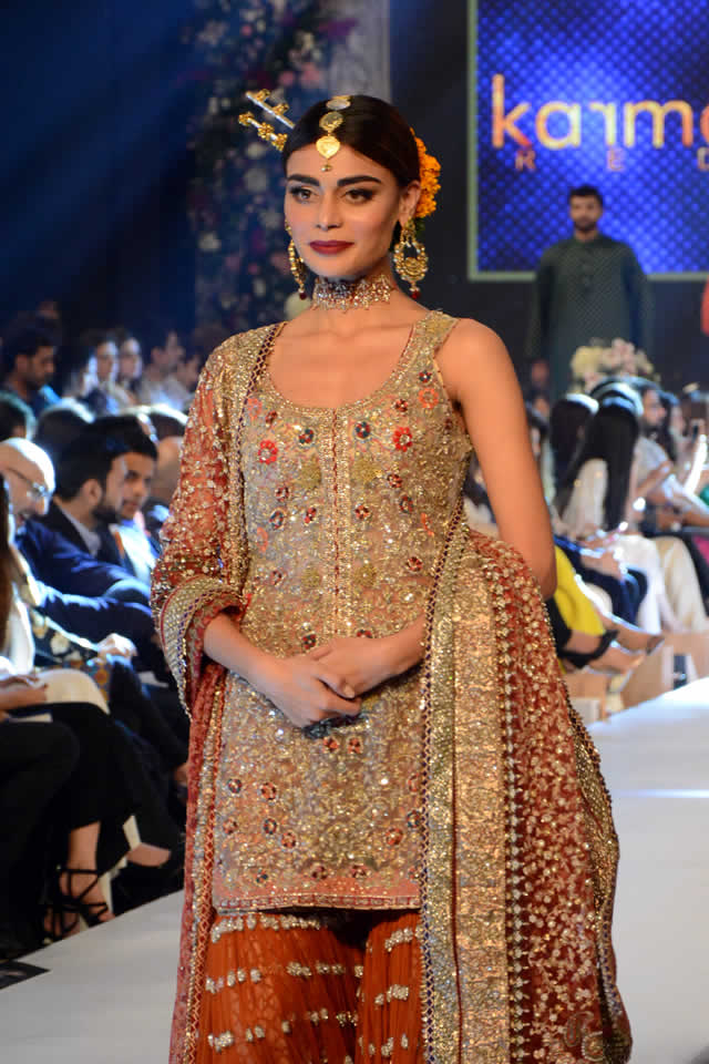 Karma Red Collection at PFDC L'Oréal Paris Bridal Week 2015 (2)