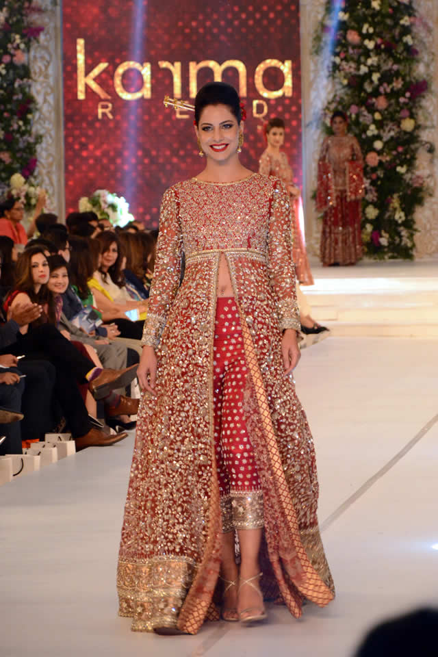 Karma Red Collection at PFDC L'Oréal Paris Bridal Week 2015 (3)