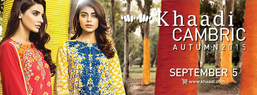 Khaadi Cambric Autumn Collection 2015-2016 (1)