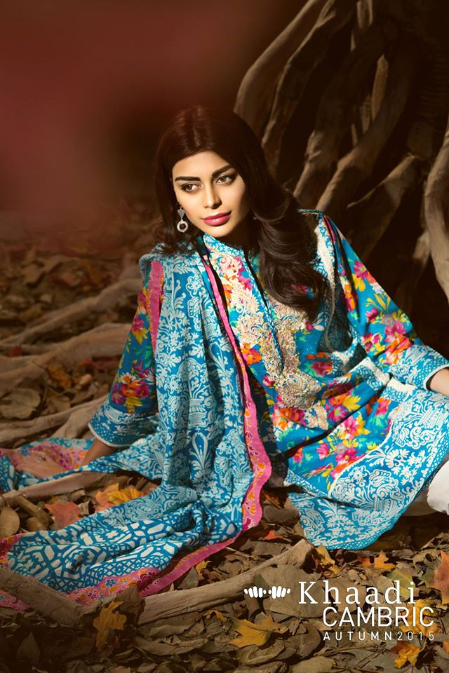 Khaadi Cambric Autumn Collection 2015-2016 (2)