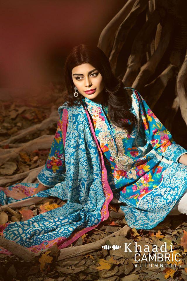 Khaadi Cambric Autumn Collection 2015-2016 (2)