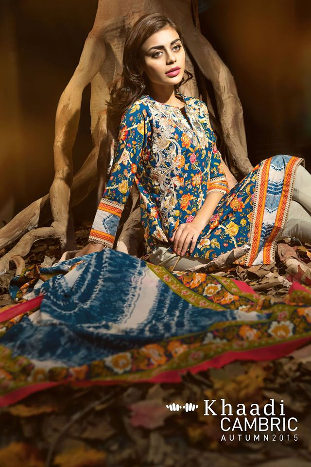 Khaadi Cambric Autumn Collection 2015-2016 (9)