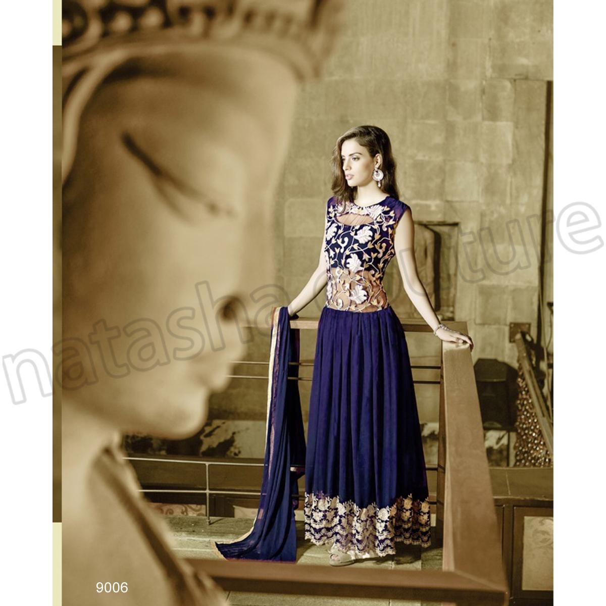 Latest Floor Length Anarkali Dresses & Frocks Collection 2015-2016 (12)