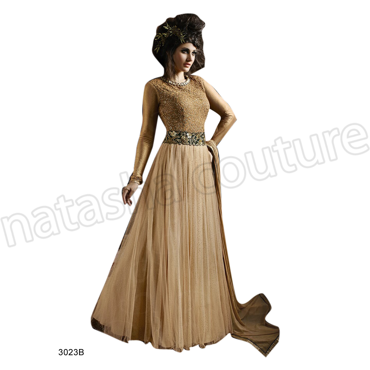Latest Floor Length Anarkali Dresses & Frocks Collection 2015-2016 (13)