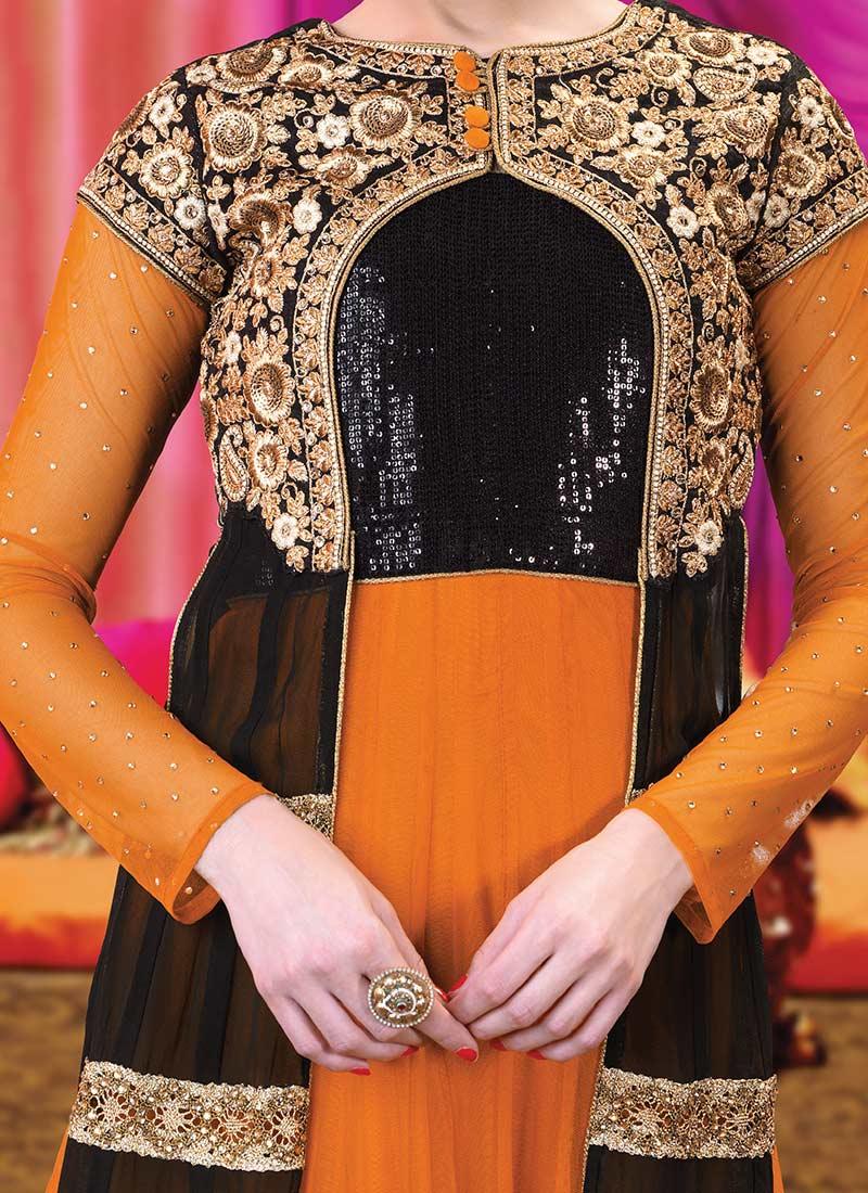 Latest Floor Length Anarkali Dresses & Frocks Collection 2015-2016 (22)