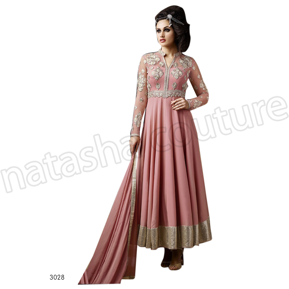 Latest Floor Length Anarkali Dresses & Frocks Collection 2015-2016 (26)