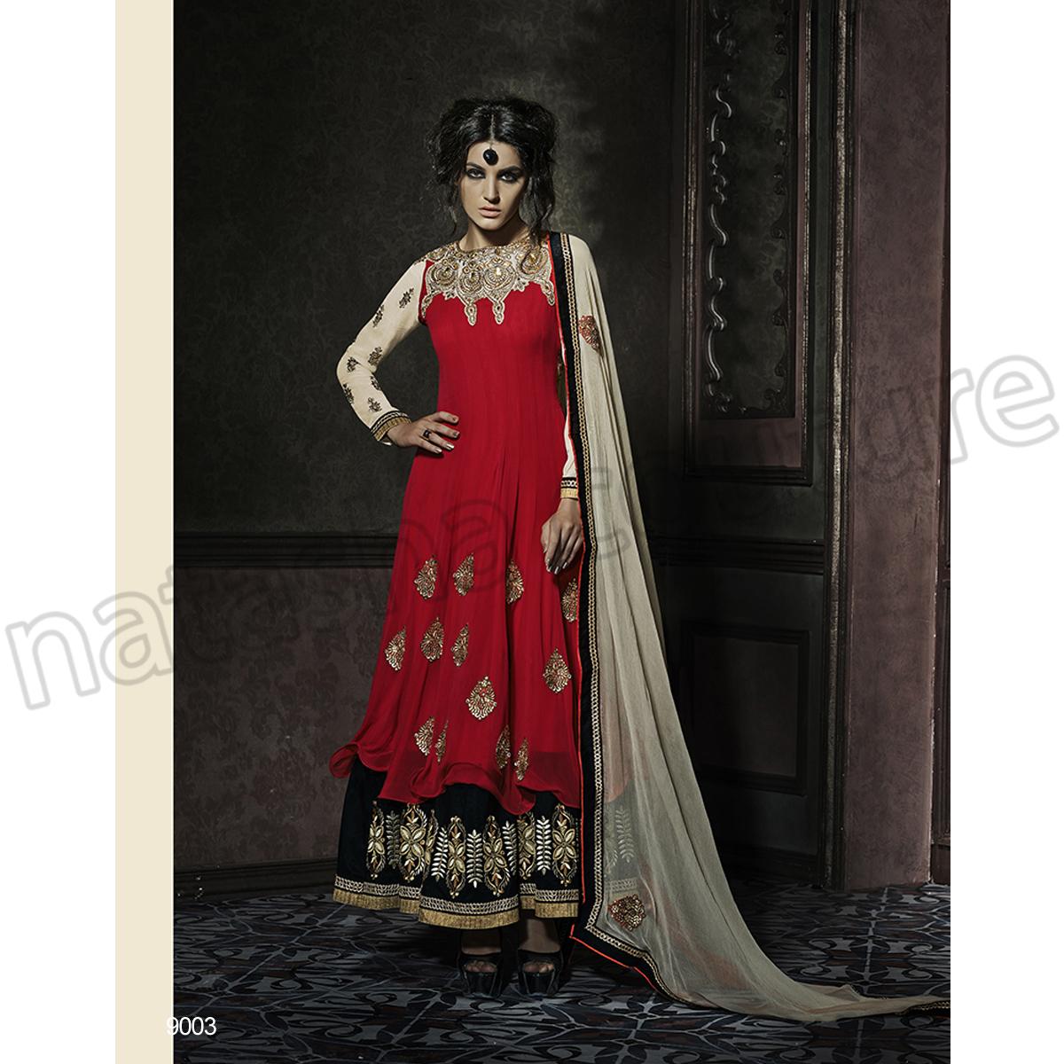 Latest Floor Length Anarkali Dresses & Frocks Collection 2015-2016 (29)