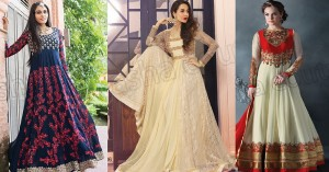 Floor Length Anarkali Suits & Frocks Collection 2016-2017