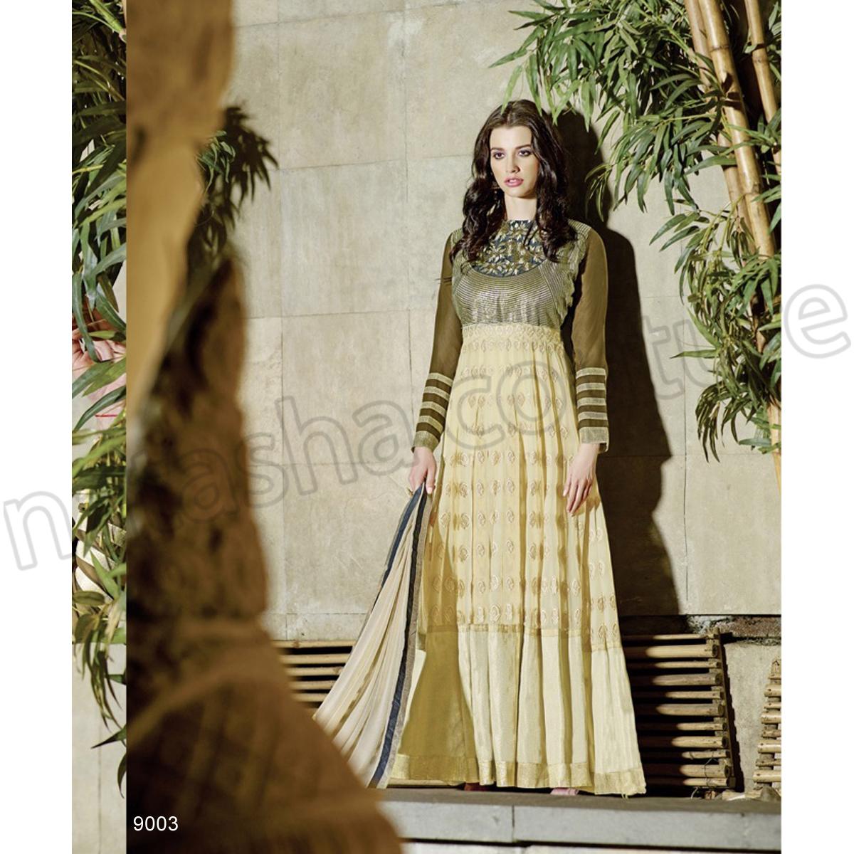 Latest Floor Length Anarkali Dresses & Frocks Collection 2015-2016 (9)