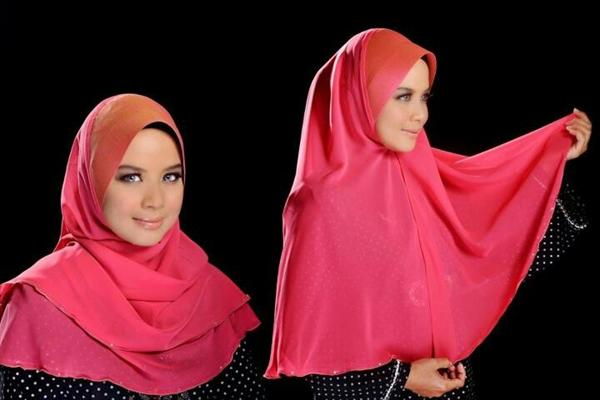 Latest Hijab Styles Tutorials & Designs 2015-2016 (14)