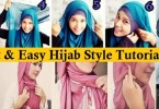 Latest Hijab Styles Tutorials & Designs 2015-2016