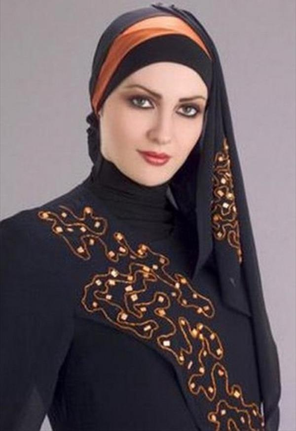 Latest Hijab Styles Tutorials & Designs 2015-2016 (15)
