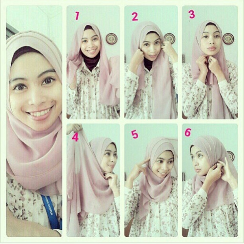 Latest Hijab Styles Tutorials & Designs 2015-2016 (5)