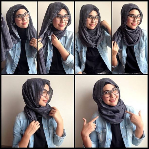 Latest Hijab Styles Tutorials & Designs 2015-2016 (6)
