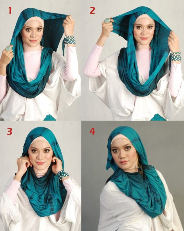 Latest Hijab Styles Tutorials & Designs 2015-2016 (8)