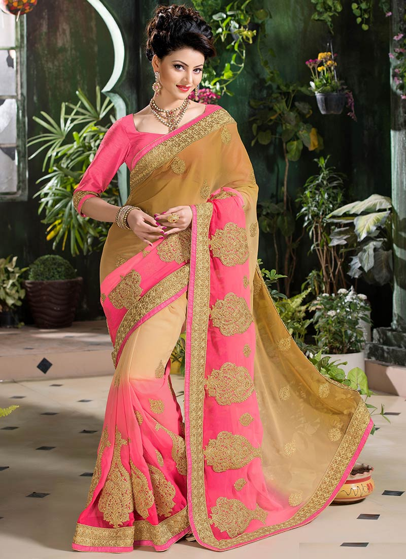 Latest Indian Party Wear Sarees Collection 2015-2016 (1)