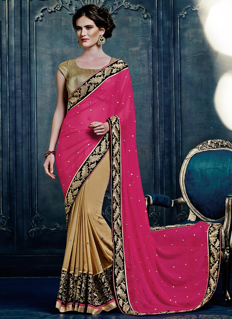 Latest Indian Party Wear Sarees Collection 2015-2016 (10)