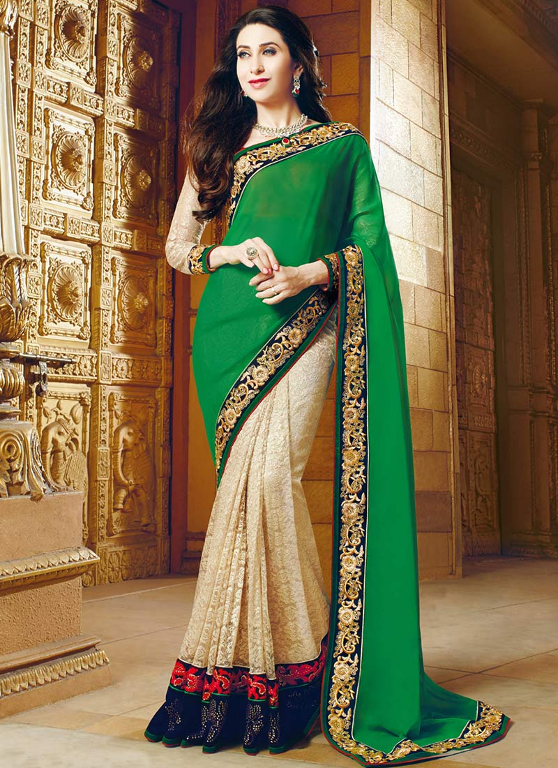 Latest Indian Party Wear Sarees Collection 2015-2016 (11)