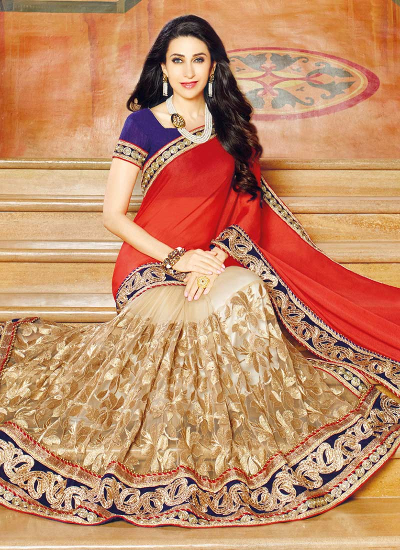 Latest Indian Party Wear Sarees Collection 2015-2016 (12)