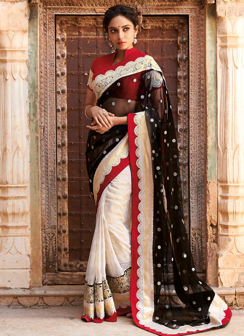 Latest Indian Party Wear Sarees Collection 2015-2016 (17)