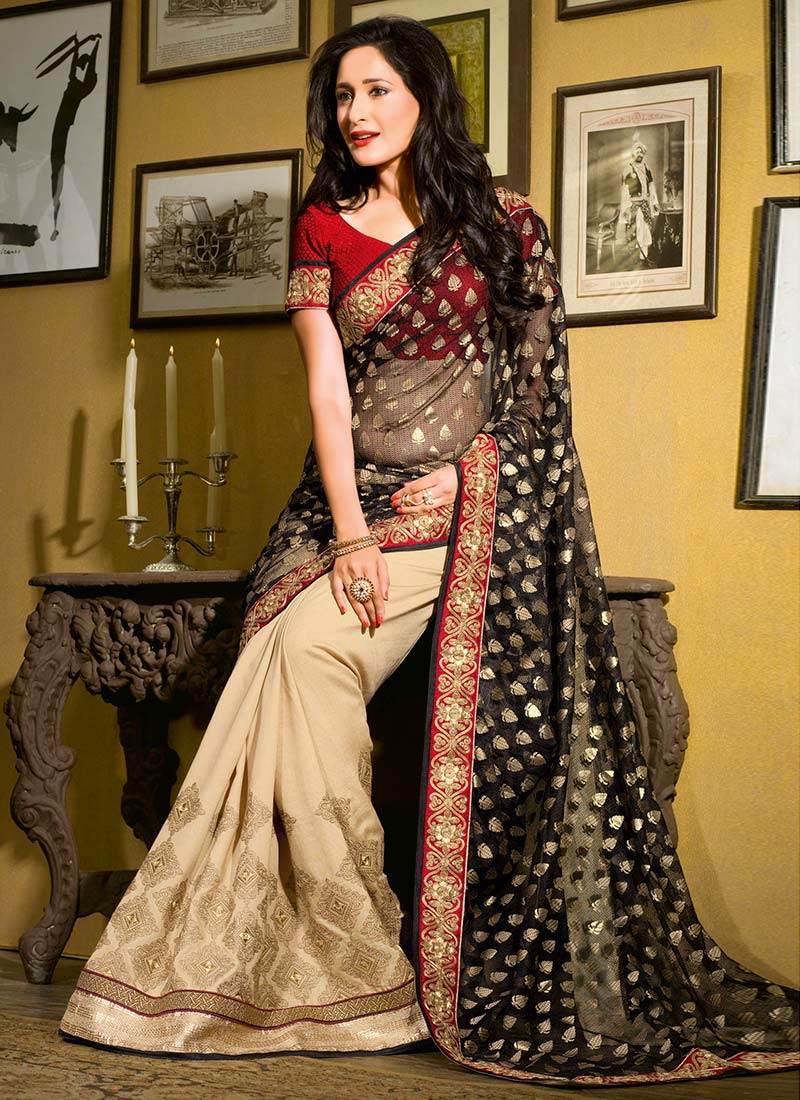 Latest Indian Party Wear Sarees Collection 2015-2016 (2)