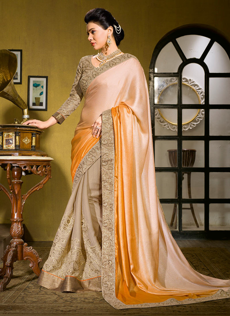 Latest Indian Party Wear Sarees Collection 2015-2016 (21)