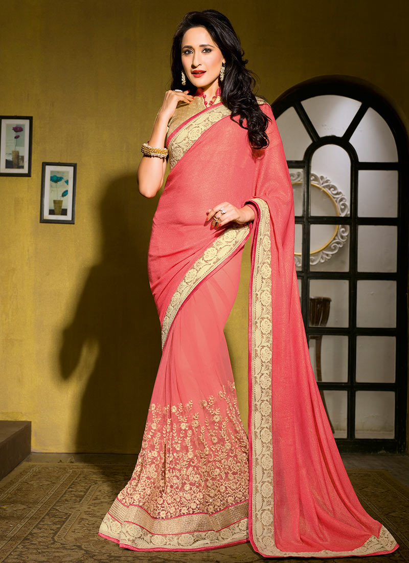 Latest Indian Party Wear Sarees Collection 2015-2016 (22)