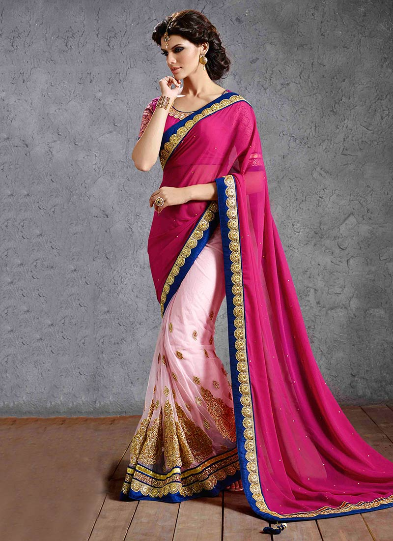 Latest Indian Party Wear Sarees Collection 2015-2016 (23)